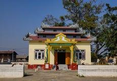 Буддийский монастырь в положении Шани, Мьянме Стоковая Фотография RF