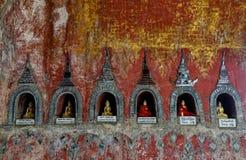 Буддийский монастырь в положении Шани, Мьянме Стоковое Фото