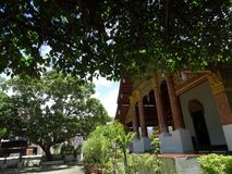 Буддийский монастырь в Luang Prabang, Лаосе Стоковое Изображение