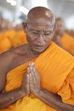 буддийский монах Таиланд Стоковая Фотография