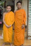 буддийский монах Стоковое Изображение
