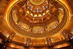 буддийский нутряной пышный дворец Стоковое фото RF