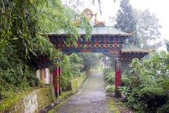 буддийский скит строба к Стоковое Изображение