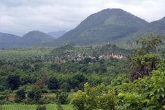 буддийский скит холма Стоковое Фото
