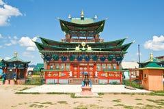 буддийский скит экстерьера здания Стоковое Фото