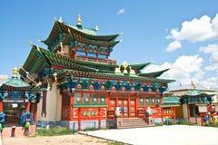 буддийский скит экстерьера здания Стоковая Фотография RF