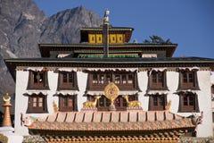 буддийский скит Стоковая Фотография