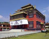Буддийский скит - Kathmandu - Непал стоковые изображения rf