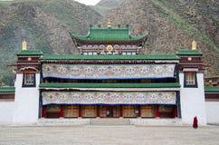 буддийский скит labrang Стоковое фото RF