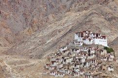 буддийский скит ladakh gompa chemdey Стоковые Изображения RF
