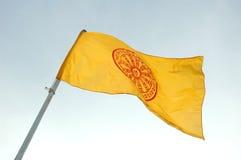 буддийский флаг Стоковая Фотография RF