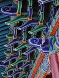 буддийский цветастый висок стрех Стоковое Изображение