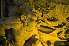 буддийский leshan висок статуи Стоковые Фото