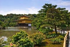 буддийское Дзэн виска японии kyoto Стоковые Фото