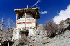 буддийское stupa Непала Стоковые Изображения RF
