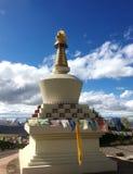 Буддист Stupa Thegsum Tashi Gomang карм стоковое фото rf