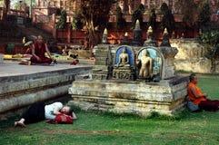 Будизм в Индии стоковые изображения rf