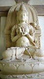 Будизм: женский bodhisattva Prajnaparamita Стоковая Фотография