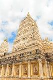 Будизм Pagoda, имя висков JD Bodh Gaya Стоковая Фотография