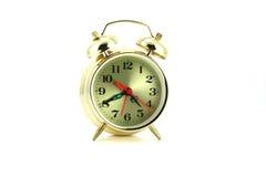 будильник золотистый Стоковое Изображение RF