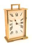будильник золотистый Стоковое фото RF