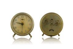 будильник старый Стоковая Фотография