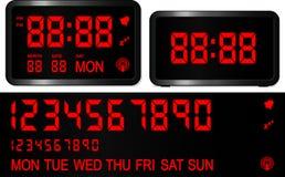 будильник цифровой Стоковые Фотографии RF