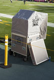 Будочка немедленного воспроизведения американского футбола NFL Стоковое Изображение RF