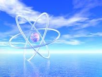 будущая наука Стоковая Фотография RF