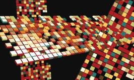 будущее абстрактного искусства Стоковые Фото
