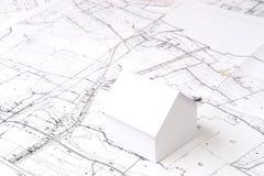 будущее запланирование дома Стоковая Фотография