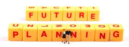 будущее запланирование Стоковая Фотография