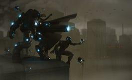 будущие воины Стоковые Изображения RF