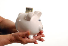 будущие сбережения Стоковая Фотография RF