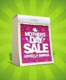 Будьте матерью знамени продажи дня ` s с календарем разрыва- Стоковая Фотография