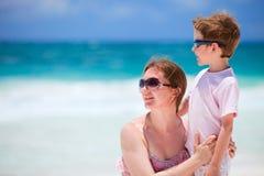 будьте матерью каникулы сынка стоковое изображение rf