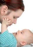 будьте матерью сынка Стоковое фото RF