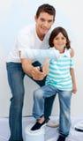 будьте отцом его сынка комнаты картины Стоковые Фото