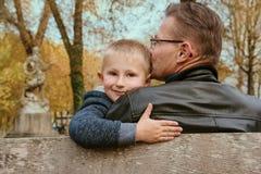 будьте отцом его сынка стоковые фото
