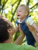будьте отцом его сынка Стоковая Фотография