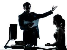 будьте отцом подростка учителя студента человека домашней работы девушки Стоковое Изображение RF