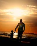 будьте отцом сынка Стоковые Фотографии RF