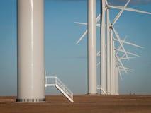 будьте фермером ветер турбин Стоковое Изображение RF