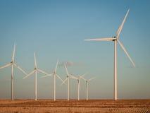 будьте фермером ветер турбин Стоковая Фотография RF