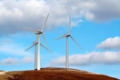 будьте фермером ветер турбин Стоковые Изображения RF