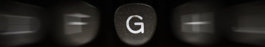 Буква алфавита в английском g Стоковые Фотографии RF