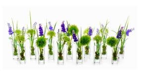Букеты цветка от centerpiece расположения искусственных цветков Стоковое фото RF