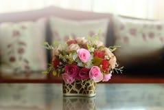 Букет вазы цветков Стоковая Фотография RF