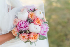 Букет венчания невесты Стоковые Изображения