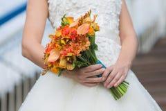 Букет венчания невесты Стоковые Изображения RF